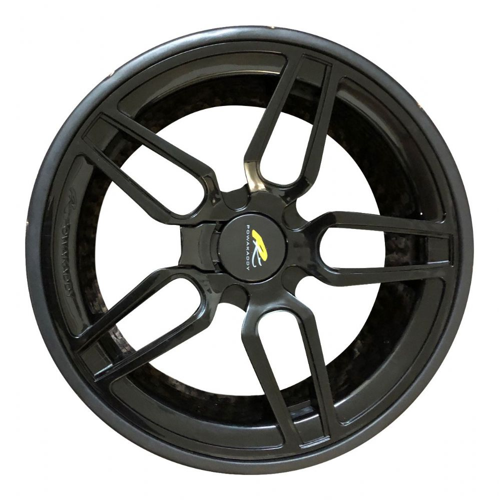 Powakaddy 2019 FW3 / FW5 Rear Wheel (Black)